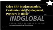 Odoo ERP Implementation, Customization, Development, Partners in India