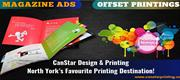 Offset Printing North York and Magazine Ads