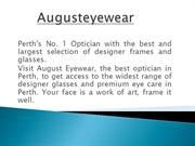 Best Optician in Perth, Quality Lenses at Perth, Sunglasses at Perth