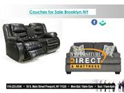 Couches for Sale Brooklyn NY