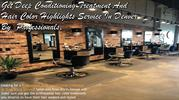 Get Deep Conditioning Treatment And Hair Color Highlights Service In D