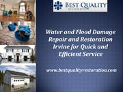 Water and Flood Damage Repair
