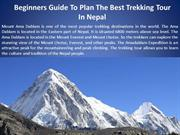 Beginners Guide To Plan The Best Trekking Tour In Nepal