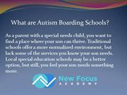 What are Autism Boarding Schools?