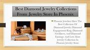 Phoenix Jewelers Diamond Jewelry Collections Online