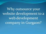 Why outsource your website development to a web development company in