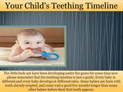 Your Child's Teething Timeline