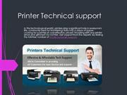 Printer support us for customers