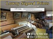 Excellent Lowry Signed Prints for Sale