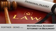 Motorcycle Accident Attorney in Beaumont
