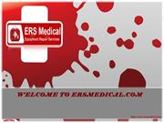 Reliable general biomedical equipment repair exclusively at ERS Medica