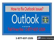 To fix Outlook issue