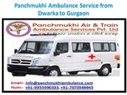 Best ICU Facility Ambulance Service from Dwarka to Gurgaon