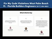 Fix My Code Violations West Palm Beach