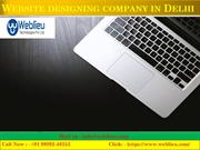 Website designing company in India, web designer in India