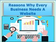 Reasons Why Every Business Needs A Website