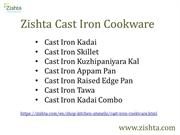Zishta Cast Iron Cookware
