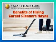 Benefits of Hiring Carpet Cleaners Hayes