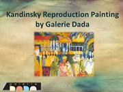 Kandinsky reproduction painting by Galerie Dada
