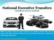 Travel in Style with National Executive Transfers