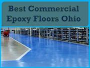 Best Commercial Epoxy Floors Ohio