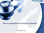Book an Appointment for Cholera Vaccination