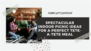 Spectacular Indoor Picnic Ideas For A Perfect Tete-A-Tete Meal