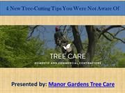 4 New Tree-Cutting Tips You Were Not Aware Of