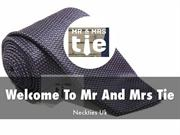 Mr And Mrs Tie Presentations