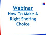 How to make a right shoring choice-converted