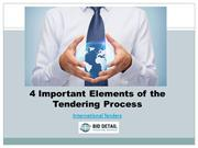 4 Important Elements of the Tendering Process - BidDetail