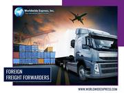 Top functions performed by leading Foreign Freight Forwarders