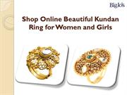 Kundan Rings Online Shopping Store