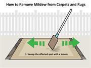 How to Remove Mildew from Carpets and Rugs
