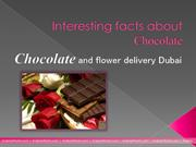 Chocolate and flower delivery Dubai