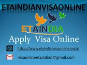 Indian e tourist visa online | e tourist visa in India