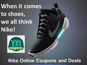 Nike Online Coupons and Deals - Maddycoupons