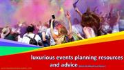 luxurious events planner In Miami