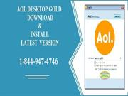 AOL Desktop Gold Icon Missing Issue. Call Support For Help.