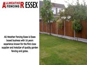 High-quality Fencing Service in Canvey Island