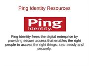 Ping Identity Resources
