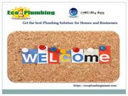 Hire the Eco 1 plumbing Miami Company for the Quality services