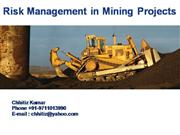 Risk Management in Mining Projects