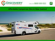 Affordable Campervan Hire in New Zealand
