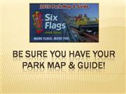 Be sure you have your park map
