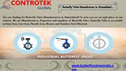 Butterfly Valve Manufacturer,Electric Actuated Butterfly Valve - India