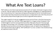 How Much Can I Borrow Money ?Text Loans Direct Lender