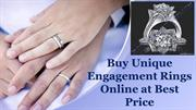 Buy Unique Engagement Rings Online at Best Price