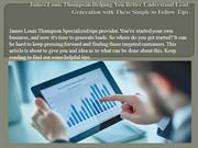 James Louis Thompson Helping You Better Understand Lead Generation wit