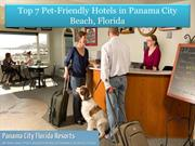 Top 7 Pet-Friendly hotels in Panama City beach Fl